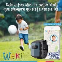 WEKI WATCH NIÑOS - CELU -RELOJ- GPS - BOTON PANICO SOS