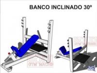 23 Planos para fabricar máquinas para Gimnasio Gym