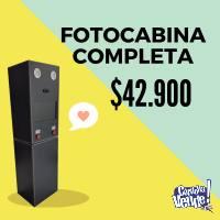 FOTOCABINA COMPLETA