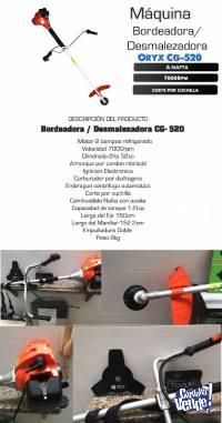 Desmalezadora Oryx 52cc 2t 2 Hp Motoguadaña Bordeadora