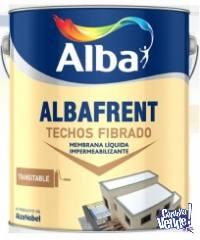 Albafrent Fibrado Alba Blanco Mate 20lts - COLORMIX
