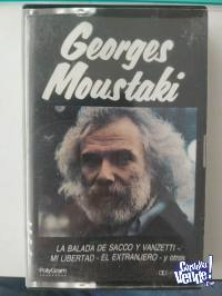 Cassette Georges Moustaki