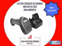 LECTOR C�DIGOS DE BARRAS 3NSTAR SC305 INAL�MBRICO USB C�R
