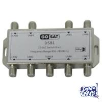 Diseqc Gosat 8 En 1 Switch 1.1