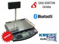 Balanza Kretz Aura Eco 31 kg Impresor ticket Bluetooth