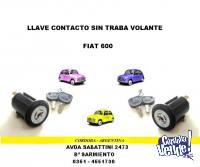 LLAVE ARRANQUE Y CONTACTO FIAT 600