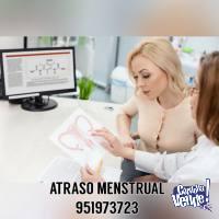 Atraso Menstrual 951973723 BARRANCA Centro Medico Moderno