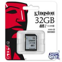 Memoria Kingston 32gb Clase 10 45 Mb/s Hd Video