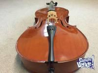 Cello HEIMOND 4/4 con funda, arco, resina y puente