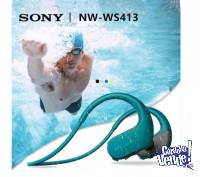 Reproductor Mp3 Auriculares Sumergibles Sony Walkman Nwws413