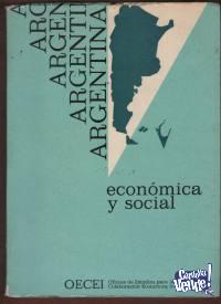 ARGENTINA ECONOMICA Y SOCIAL   por la OECEI 2 tomos $ 690