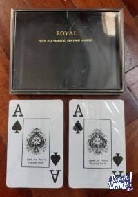 Juego De Cartas De Poker Royal