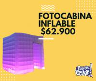 FOTOCABINA INFLABLE COMPLETA