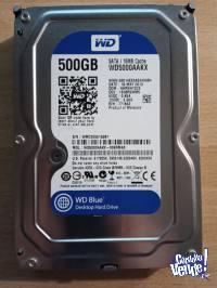DISCOS WD CAVIAR BLUE 500GB 16MB