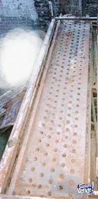 rampas con estructura de caños