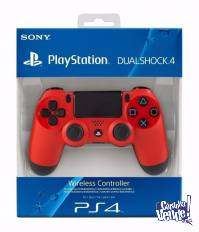 Joystick Ps4 Sony Play 4 Original Dualshock 4 Color ROJO