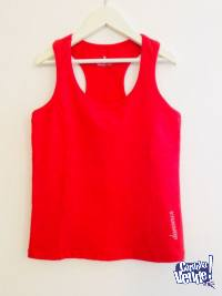 Remera Musculosa Deportiva Mujer Schnell Talle S/M