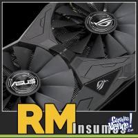 Placa de Video ASUS AMD ATI RX 570 4GB GDDR5 StriX Aura OC
