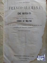 GUERRA FRANCO - ALEMANA