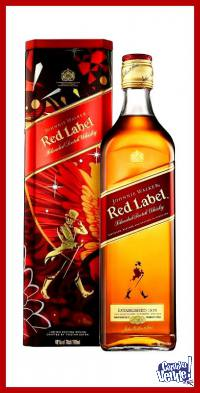 JOHNNIE WALKER (EST. METAL) - RED LABEL - WHISKY - (750 ML)