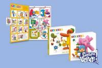 El Mundo De Pocoyó Y Sus Amigos. 6 Libros + Dvd + Láminas