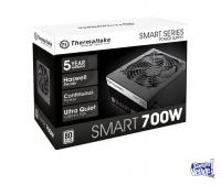 FUENTE 700W THERMALTAKE SMART WHITE 80 PLUS