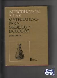 MATEMATICAS PARA MEDICOS Y BIOLOGOS  Cardus  $ 1290