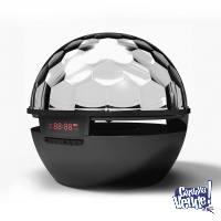 Parlante Portátil Stromberg Ligthts 10w Bluetooth Disco Fm