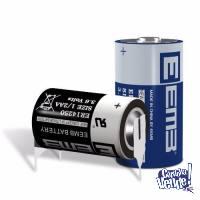 Pila Bateria Eemb 14250 3.6v 1200mah Litio C/ Terminal