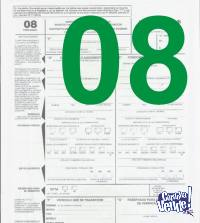Formulario 08 Moto Motovehiculo - Transferencia $