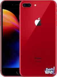 Iphone 8 Plus De 64gb RED Libre 4g Gtia Apple Caja Sellada