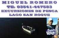 MIGUEL ROMERO - EXCURSIONES DE PESCA DEPORTIVA.