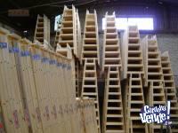 Escalera de madera tipo familiar liviana tijera N8 SCALA
