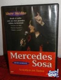 MERCEDES SOSA SHOW INÉDITO ACÚSTICO EN SUIZA
