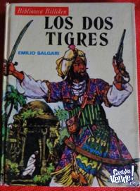 LOS DOS TIGRES   EMILIO SALGARI  BIBLIOTECA BILLIKEN