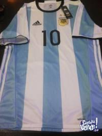 Camiseta Selección Argentina Eliminatorias 2018 Adizero 10