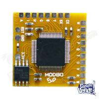 chip modbo 5.0 - v1.93 -- chipeo ps2 slim -- nuevo sellado