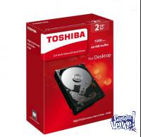 DISCO DURO INTERNO PC 2TB - SATA 3 - TOSHIBA - P300 - BOX