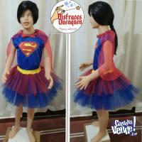 OFERTA! Disfraz de Supergirl para niñas