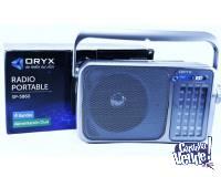 Radio Dual Oryx SP-5860 - FM / AM