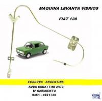 MAQUINA LEVANTA VIDRIO FIAT 128 TRASERA