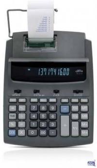 Calculadora con impresor ticket Cifra PR255T Térmica Gtía