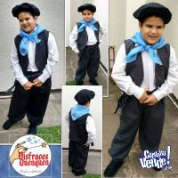 Gaucho. Disfraces infantiles para Fiestas Patrias