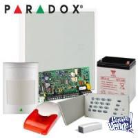 Kit de Alarma Hogar Comercio PARADOX Importada