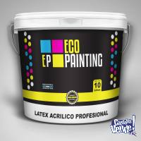 Pintura Latex Obra Int-Ext 20l +rodillo OFERTA!