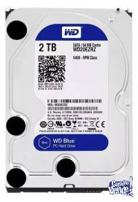 DISCO DURO INTERNO PC 2TB - SATA 3- WESTERN DIGITAL BLUE