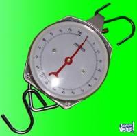 Balanza Reloj De Colgar 200kgs.nueva EN CAJAS 2 Ganchos GTIA