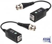 Balún pasivo HD para UTP terminales a presión el par