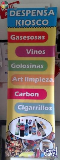 Banner para Kiosco