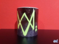 PLAYSTATION WATCH DOGS 2 TAZA CERAMICA